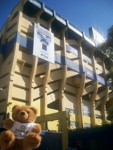 Koko au stade de La Boca Junior