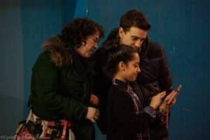 les soutiens d'Amélie du Kodiak'95 lors d'un assaut de boxe française au challenges Ile-de-France le 24 janvier 2015