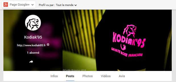 Kodiak'95 sur Google+