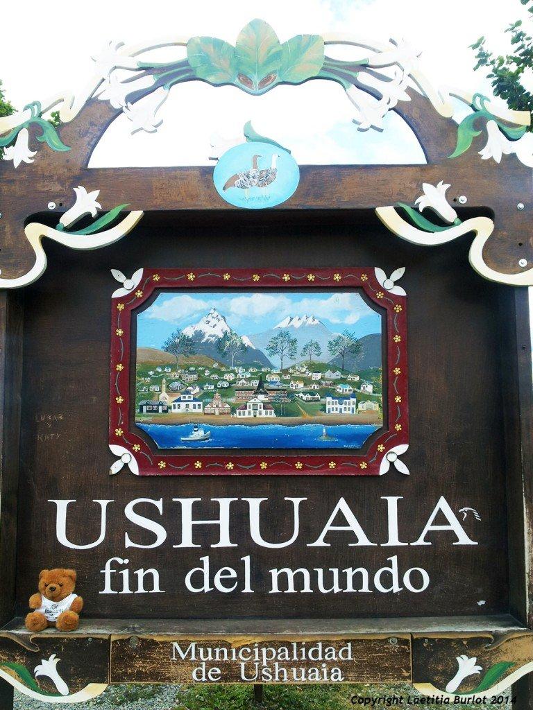 Koko est à Ushuaïa