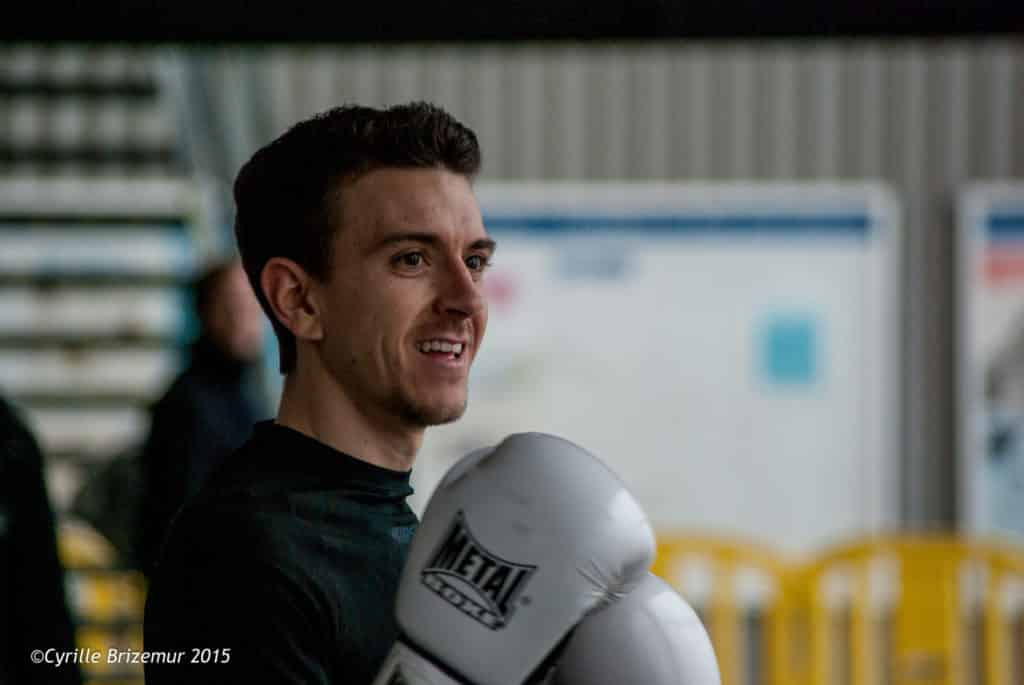 Marcos Garcia Torre du Kodiak'95 aux challenges Île-de-France de boxe française 2015