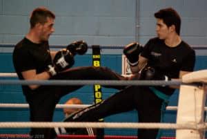 Jacky du Kodiak'95 aux challenges IDF de boxe française le 7 février 2015