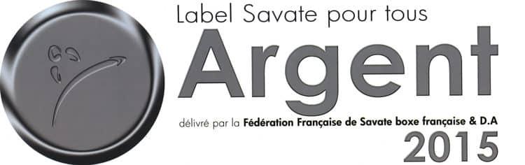 Kodiak'95 a reçu le label Argent Savate pour tous par la fédération de savate boxe française
