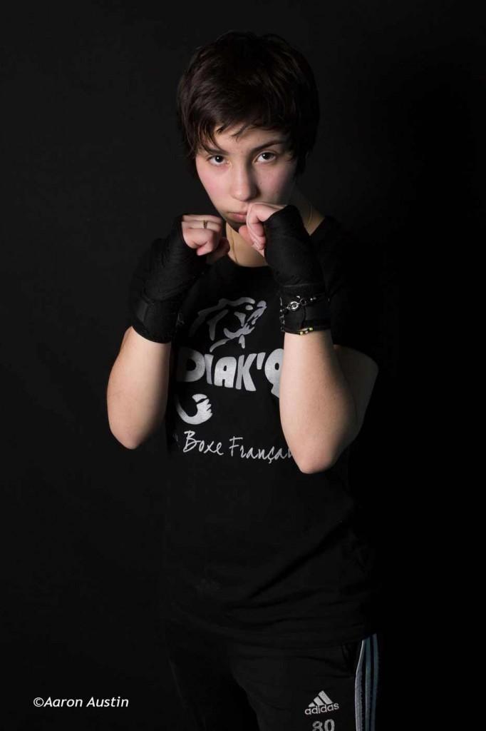 Lisa Fauveau boxe Française