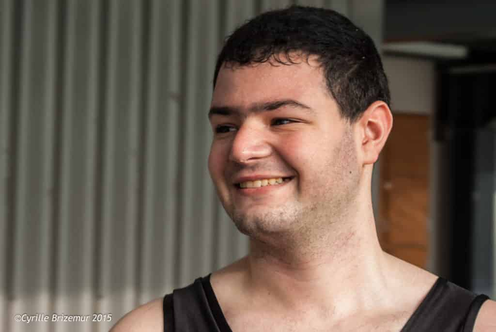 Mohammed Boussoufa aux challenges Île-de-France de boxe française 2015