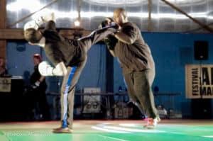 Boxe française: les boxeurs du Kodiak'95 au festival des arts martiaux 2015