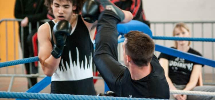 Jacky Roy du Kodiak'95 à la coupe du Val d'Oise 2015 de boxe française