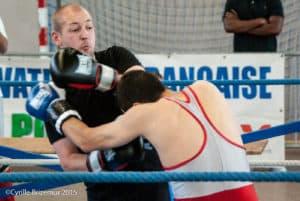 Laurent Popyk du Kodiak'95 à la Coupe du Val d'Oise 2015 de boxe française