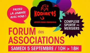 Kodiak'95 au forum des associations 2015