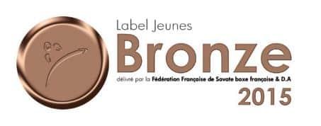 boxe française label jeune bronze