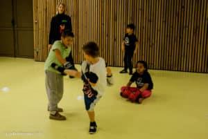 Boxe française enfants Noël