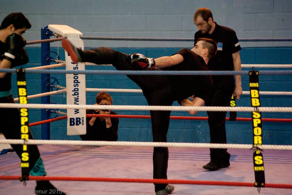 Jacky Roy au challenges IDF de boxe française 2015