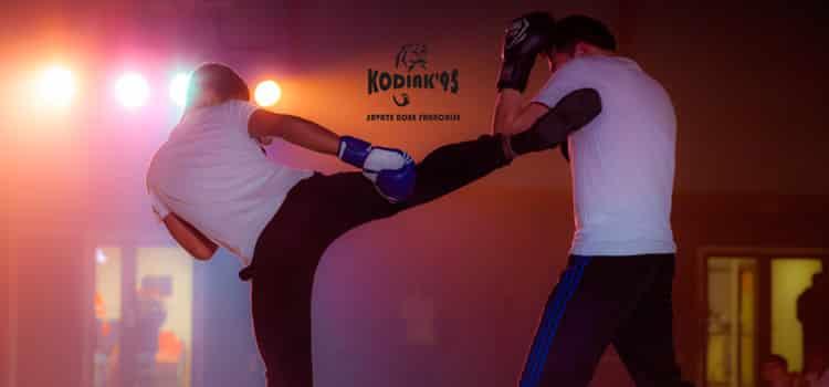 le Kodiak'95, club de boxe française Val d'Oise, au festival des arts martiaux 2016