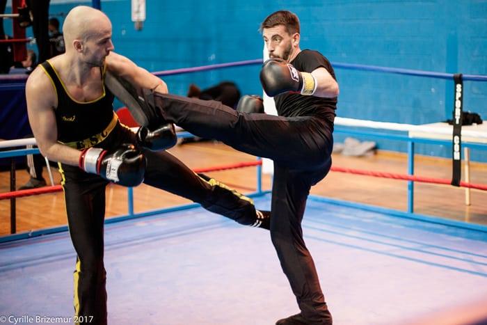 Jacky Roy au challenge Île de France 2017 de boxe française
