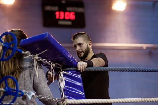 Aurel Couturier au challenges IDF de boxe française 2017