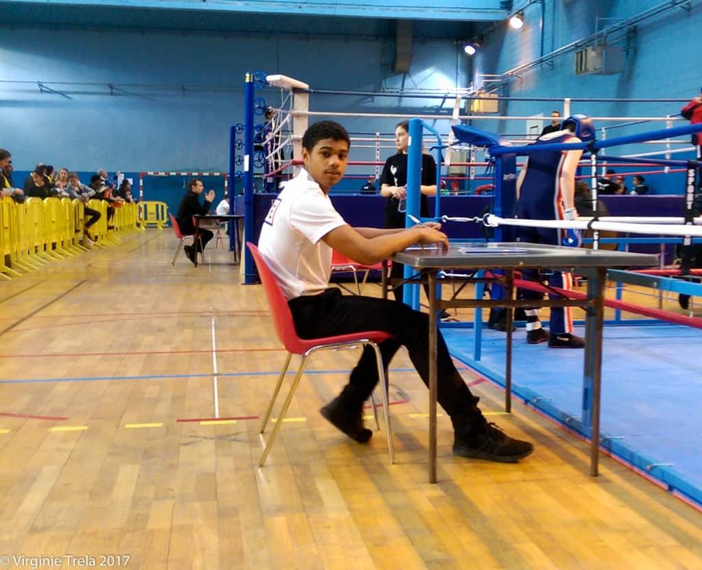 Championnat Ile de France 2017 de boxe française jeunes - Mehdi Bossière