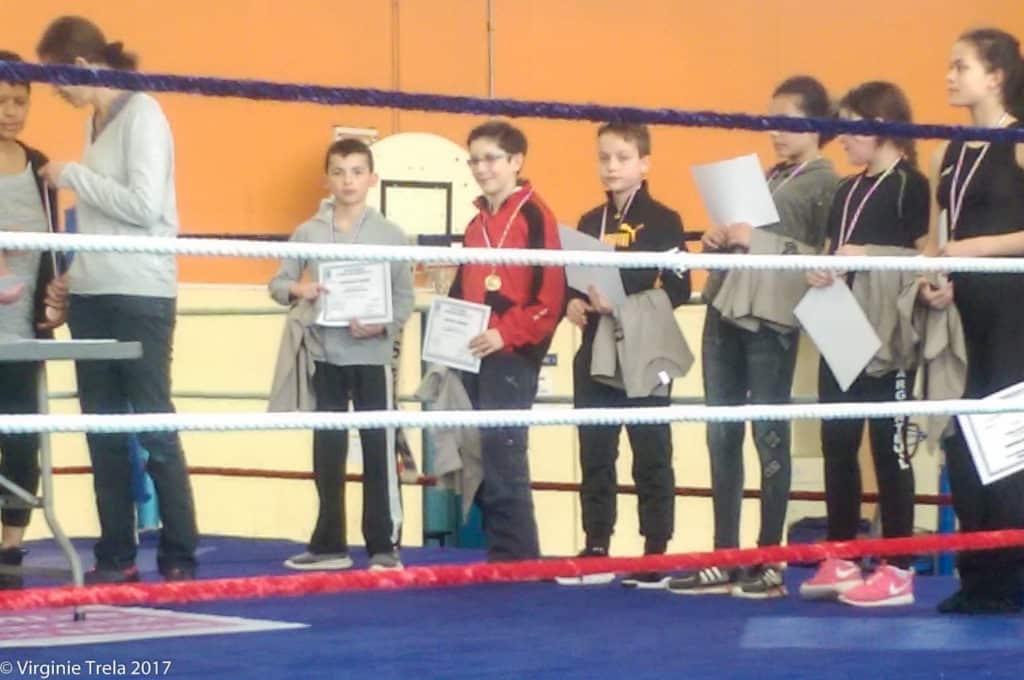 Championnat Ile de France 2017 de boxe française jeunes - Maxence Jager