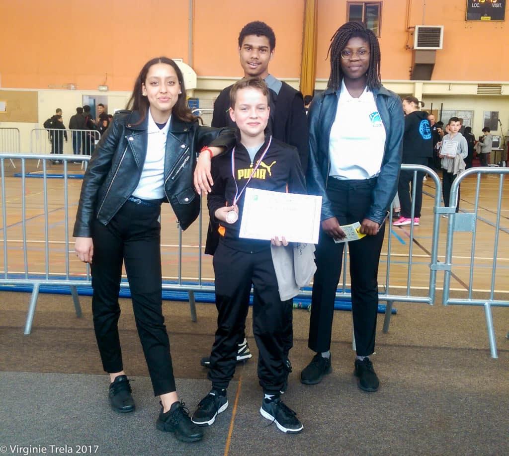 Championnat Ile de France 2017 de boxe française jeunes