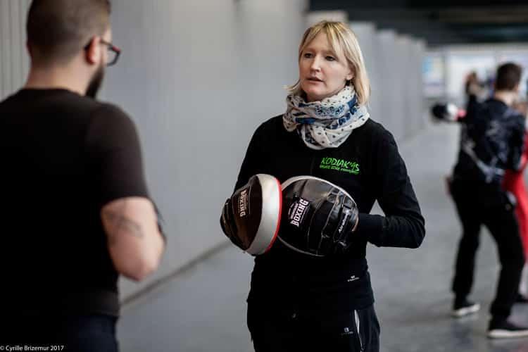 Virginie Trela - Trophée Kodiak : compétition interclub de boxe française dans le Val d'Oise (95)