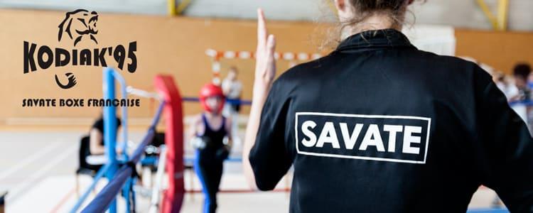 Le Kodiak'95 à la Coupe du Val d'Oise 2017 de savate boxe française