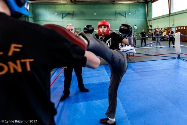 Boxe française compétition