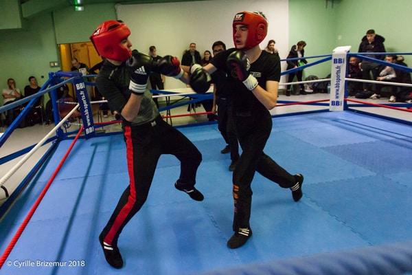 Rodrigue Texeira au championnat jeunes de savate boxe française 2018