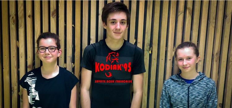 Compétitions boxe française 2018 : les jeunes en piste