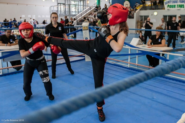 Marie-Ève Dusoulier - Le Kodiak'95 à la Coupe du Val d'Oise 2018 de savate boxe française