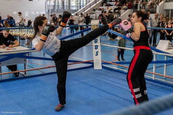 Coline Boucher - Le Kodiak'95 à la Coupe du Val d'Oise 2018 de savate boxe française