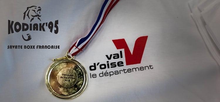Le Kodiak'95 à la Coupe du Val d'Oise 2018 de boxe française