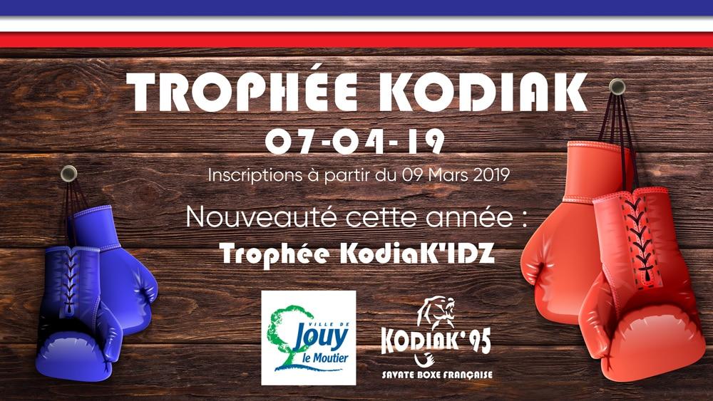 Trophée KODIAK 2019 compétition de Boxe Française