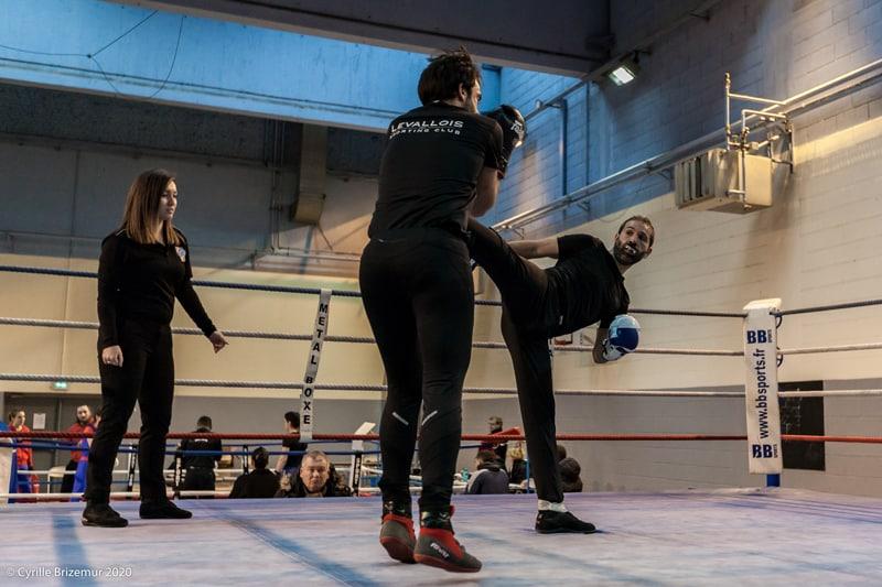 Kamel Bezzazi aux challenges IDF de boxe française