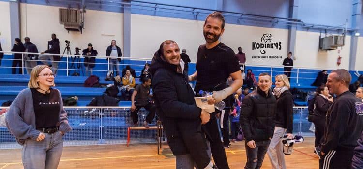 Kamel et Adrien au 1er tour des challenges IDF